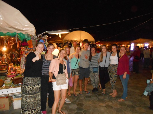 At the night markets in Phnom Penh